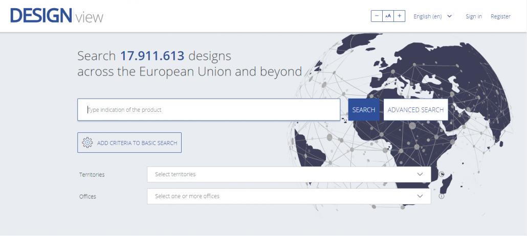 Tra cứu KDCN tại dữ liệu của Cơ quan Sở hữu trí tuệ châu Âu