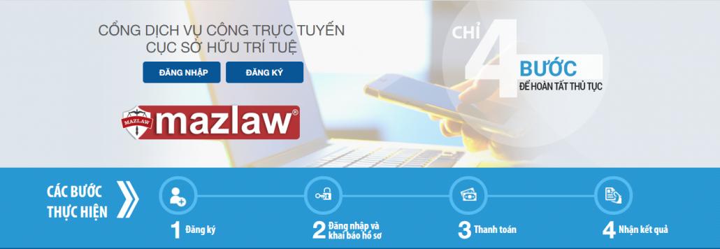 Các bước đăng ký bảo hộ thương hiệu online tại Cổng dịch vụ công trực tuyến